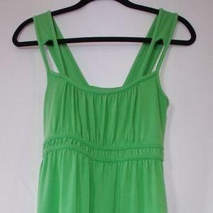 The North Face green tank dress with pocket small